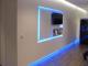KIT TIRA DE LEDS 5050 RGB INTERIOR CON CONTROL Y FUENTE TODO LISTO PARA ENCHUFAR A 220V
