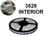 TIRA DE LEDS 3528 300 LEDS 5 METROS INTERIOR 12V BLANCO FRIO