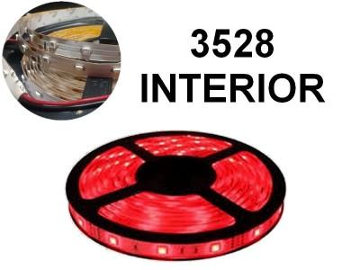 TIRA DE LEDS 3528 300 LEDS 5 METROS INTERIOR 12V ROJO