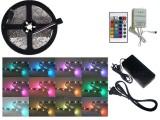 KIT TIRA DE LEDS 5050 RGB INTERIOR CON CONTROL Y F