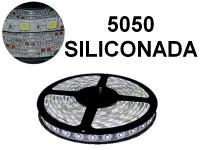 TIRA DE LEDS 5050 60 LED/M X 5 METROS EXTERIOR 12V BLANCO FRIO