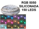 TIRA DE LEDS 5050 150  LEDS X 5 METROS EXTERIOR 12