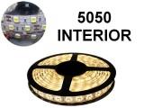 TIRA DE LEDS 5050 60 LED/M X 5 METROS INTERIOR 12V