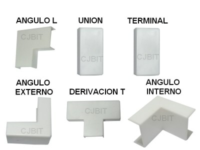 ACCESORIO PARA PERFIL DE PVC