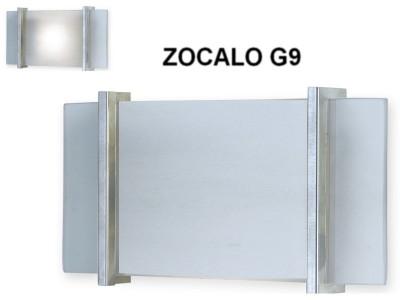APLIQUE DIFUSOR CON ZOCALO G9