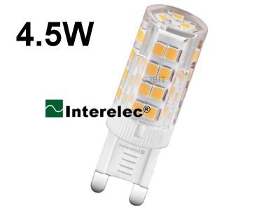 LAMPARA LED 4.5W 220V G9 INTERELEC