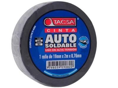 """CINTA DE CAUCHO AUTOSOLDABLE 2 MTS """"TACSA"""""""