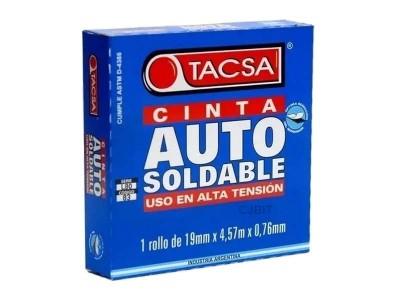 """CINTA DE CAUCHO AUTOSOLDABLE 4,57 MTS """"TACSA"""""""