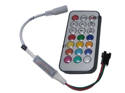 MINI CONTROLADORA RGB CON CONTROL 21 TECLAS P/TIRA LED DREAM - COLOR
