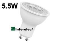 """DICROICA LED 5.5W 220V GU10 """"INTERELEC"""""""
