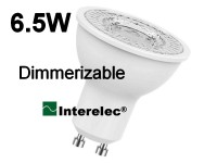 "DICROICA LED DIMERIZABLE 6.5W 220V GU10 ""INTERELEC"""