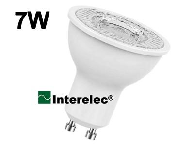 """DICROICA LED 7W 220V GU10 """"INTERELEC"""""""