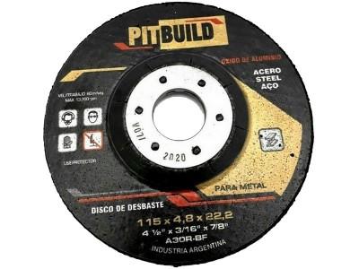 DISCO DE DESVASTE 115 OXIDO 4.8