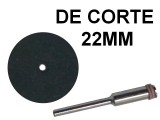 DISCO DE CORTE PARA MINITORNO X10 CON UN BASTAGO