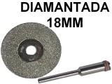 DISCO DIAMANTADO PARA MINITORNO X2 18MM CON BASTAG