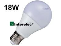 """LAMPARA LED BULBO 18W 220V E27 """"INTERELEC"""""""