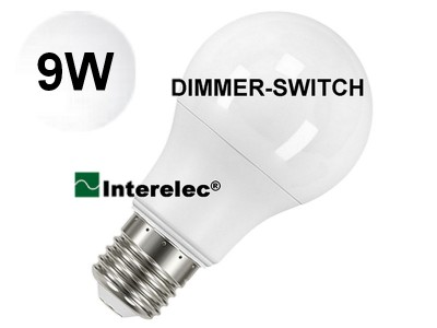 "LAMPARA LED DIMMER-SWITCH 9W ""INTERELEC"""