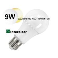 LAMPARA LED SELECCION CALIDO-NEUTRO-FRIO POR SWITC