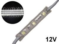MODULO DE 3 LEDS 5054 APTO PARA USO EN EXTERIOR BLANCO FRIO