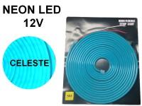 NEON LED 12V 5 METROS CELESTE