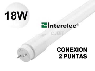 TUBO LED 220V BLANCO FRIO 1.2 METROS 18W INTERELEC